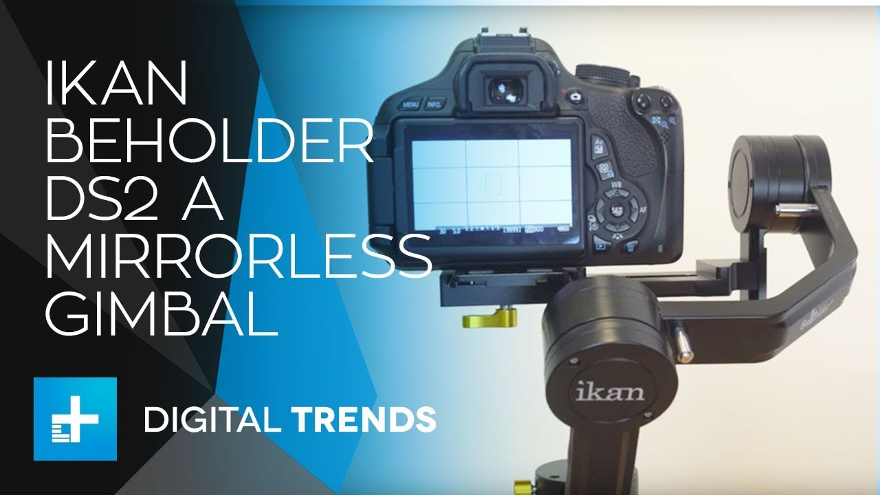 Ikan Beholder DS2 A Mirrorless Gimbal – Hands On Review