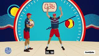 100 Fast Jumping Jacks with The Bryan Brothers