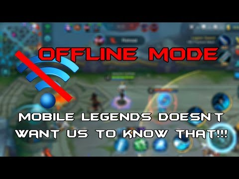 Mobile Legends Offline Mode! They Never Told Us!!!! (MUST WATCH)