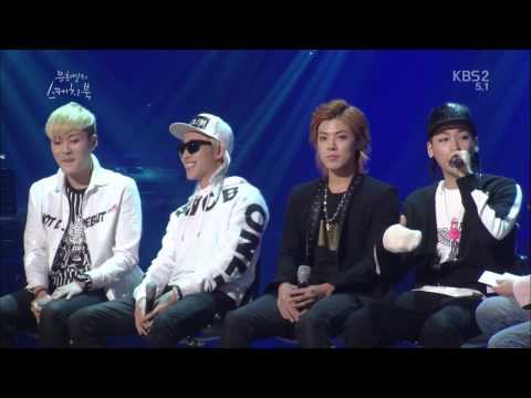 [140411] M.I.B - Hot 뜨거 + Talk + 치사 Bounce