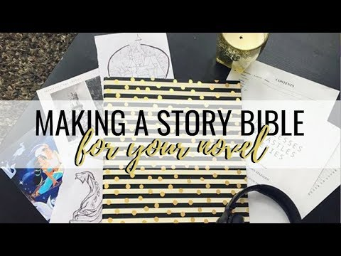 HOW TO MAKE A STORY BIBLE (AKA SERIES BIBLE) + FREE TEMPLATE