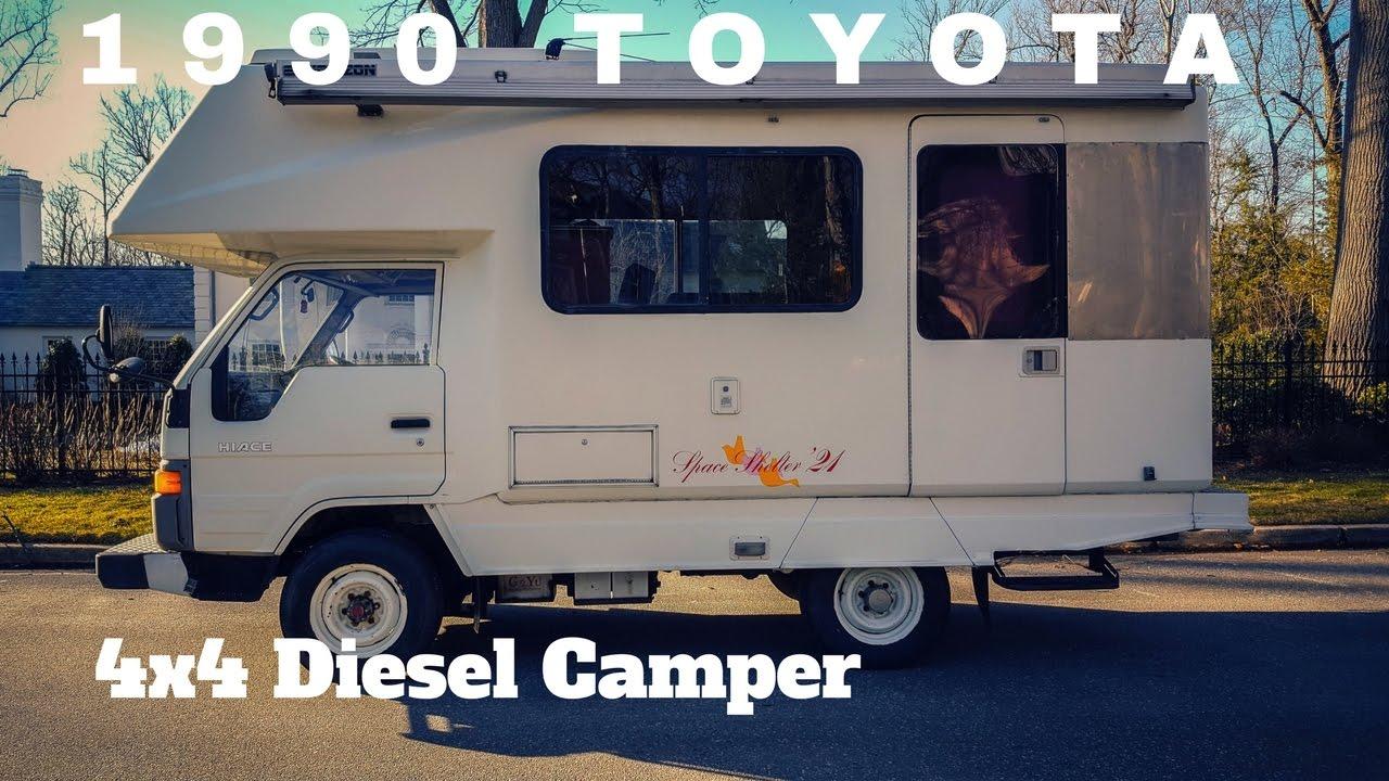 1990 Toyota Hiace Diesel Truck 4x4 Camper by OttoEx