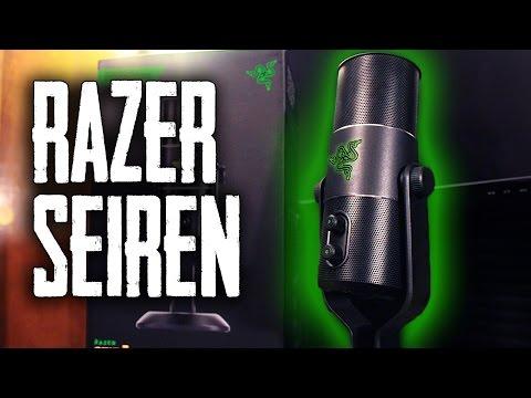 Razer Seiren Unboxing & First Look!
