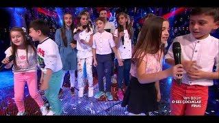 Hayat Sevince Güzel Şarkısı O Ses Çocuklar 'da Finale Kalanlar Seslendiriyoruz. Ecrin Su Çoban