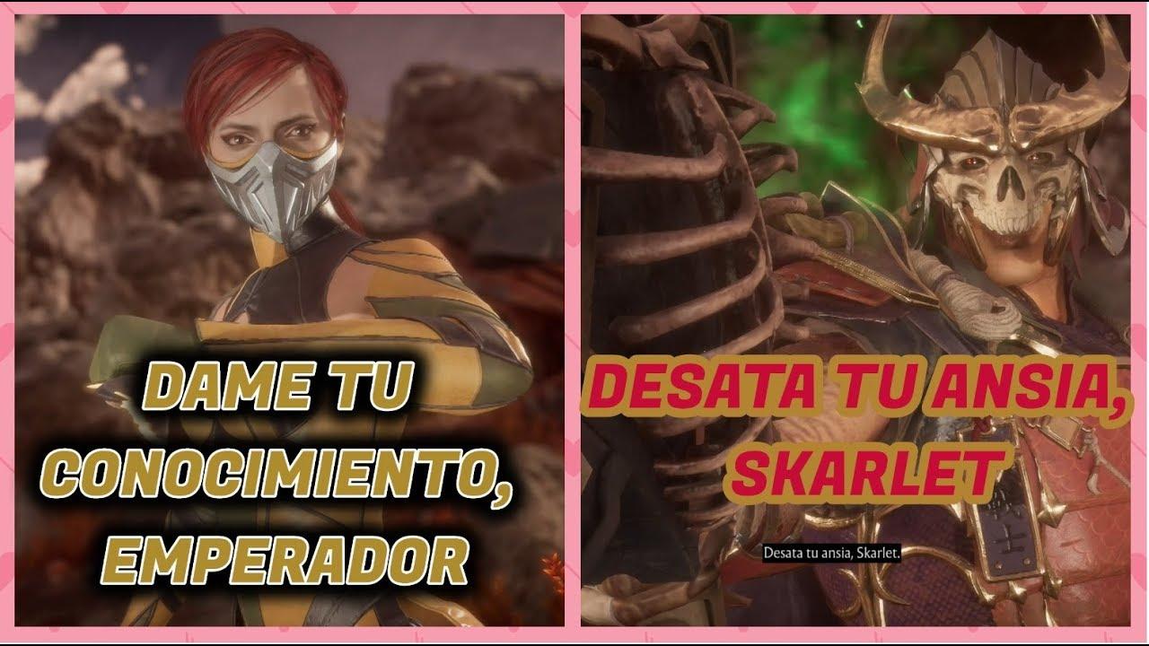 MORTAL KOMBAT 11 - LOS MEJORES DIALOGOS DE KATALINA MUZQUIZ (SKARLET)