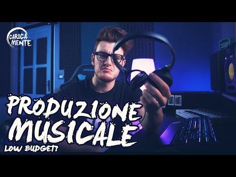 PRODUZIONE MUSICALE🎼: Musica elettronica A basso costo!? - CARICAMENTE ITA 4K