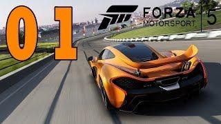 Let's Play Forza Motorsport 5 Gameplay Deutsch - Part 1 - Xbox One German Walkthrough