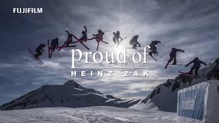 """X-H1: Heinz Zak x  Snowboard """"Fly Free"""" -Proud of- / FUJIFILM"""