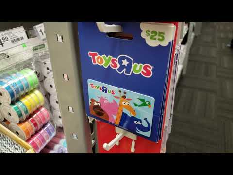 Toys R Us Gift Card?