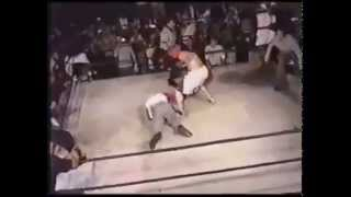 Referee Choke Slams Boxer