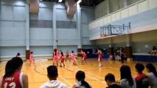 2015-2016 中學校際籃球比賽 第一組 (九龍區) 女