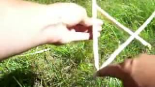 Making a Figure 4 Deadfall Trap - (Nuisance Squirrel = Dead Squirrel)