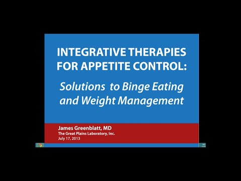 Integrative Therapies for Appetite Control  Solutions to Binge Eating and Weight Management