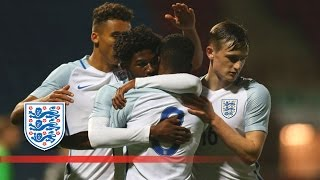 England U20 3-1 Germany U20 (2016 Four Nations Tournament) | Goals & Highlights
