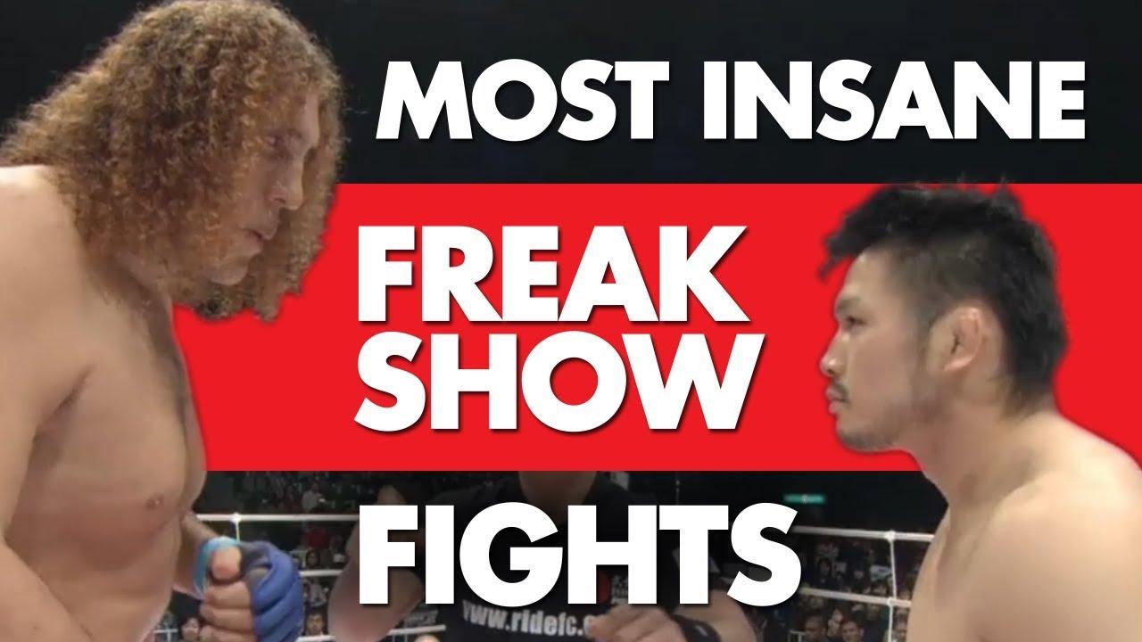 15 Most Insane Freak Show MMA Fights