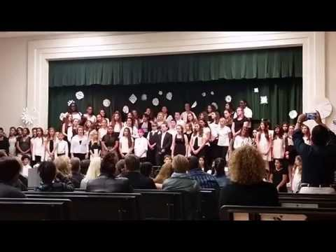 Boca Raton Community Middle School Chorus Show December 2014 c