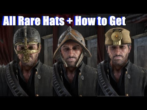 Red Dead Redemption 2 - All Rare Hats & Helmets Location (PS4 Pro)