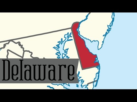 Two Minute Tour of Delaware: 50 States for Kids - FreeSchool