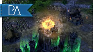 BURN EVERYTHING - The Battle For Middle Earth 2 Gameplay