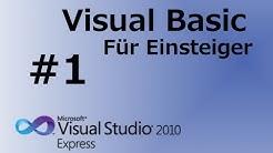 Visual Basic 2010 Tutorial für Anfänger #1 Erste Schritte