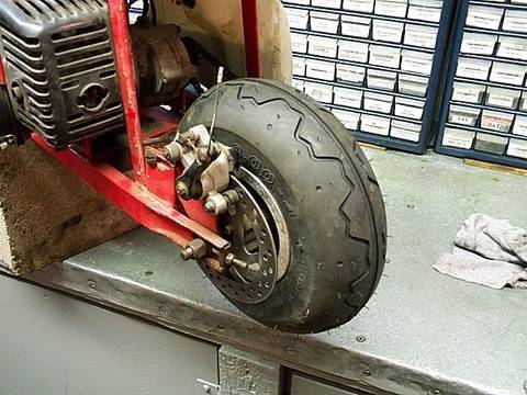 HOW TO Replace Rear TIRE on Stand UP Scooter