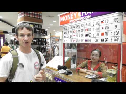 Changing Money In Bali