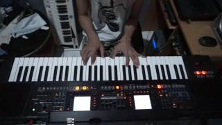 Roland EA7 style rebana piano modern Kelayung Layung (cover) by Denny