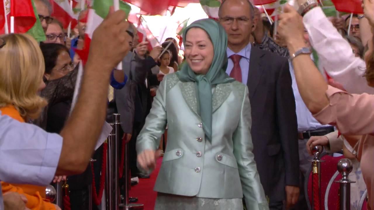 La résistance Iranienne ont célébré le succès de la réinstallation des résidents du camp Liberty