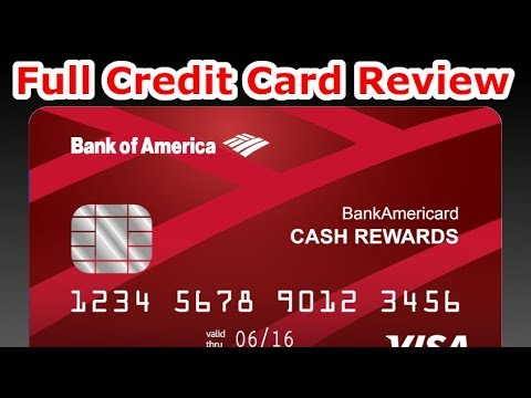 Credit Card Review: Bank of America Cash Rewards Card