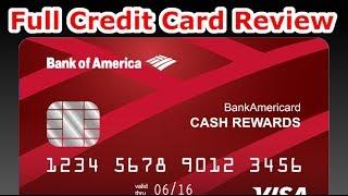 Credit Card Review: Bank of America Cash Rewards Card