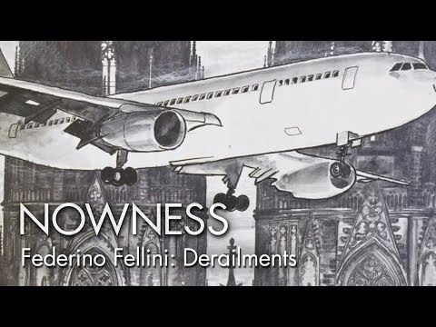 """Federico Fellini in an Excerpt from """"Derailments"""" by Chelsea McMullan"""