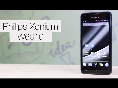 Philips Xenium W6610: Долгожитель на Android