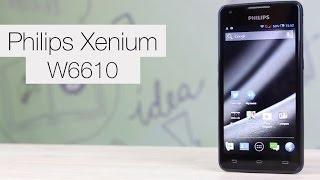 philips xenium w6610 долгожитель на android
