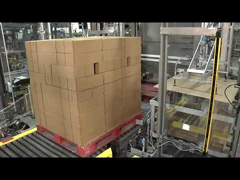 Aagard Palletizer & Stretch Wrap System