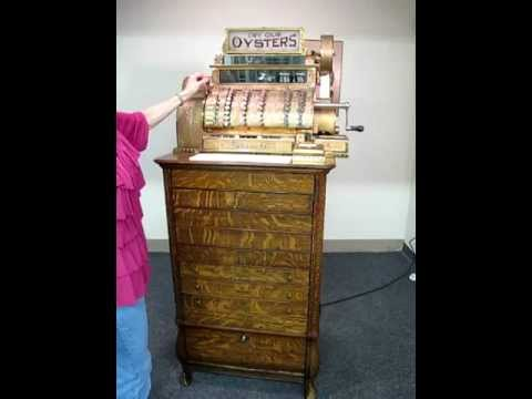 National 10 Drawer Cash Register For Sale Youtube