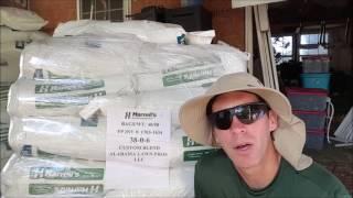 видео Оплодотворение газона