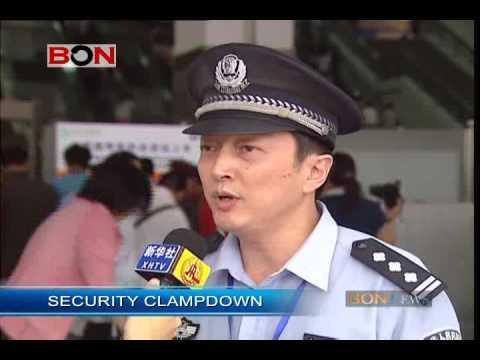 SHANGHAI SECURITY CLAMP DOWN