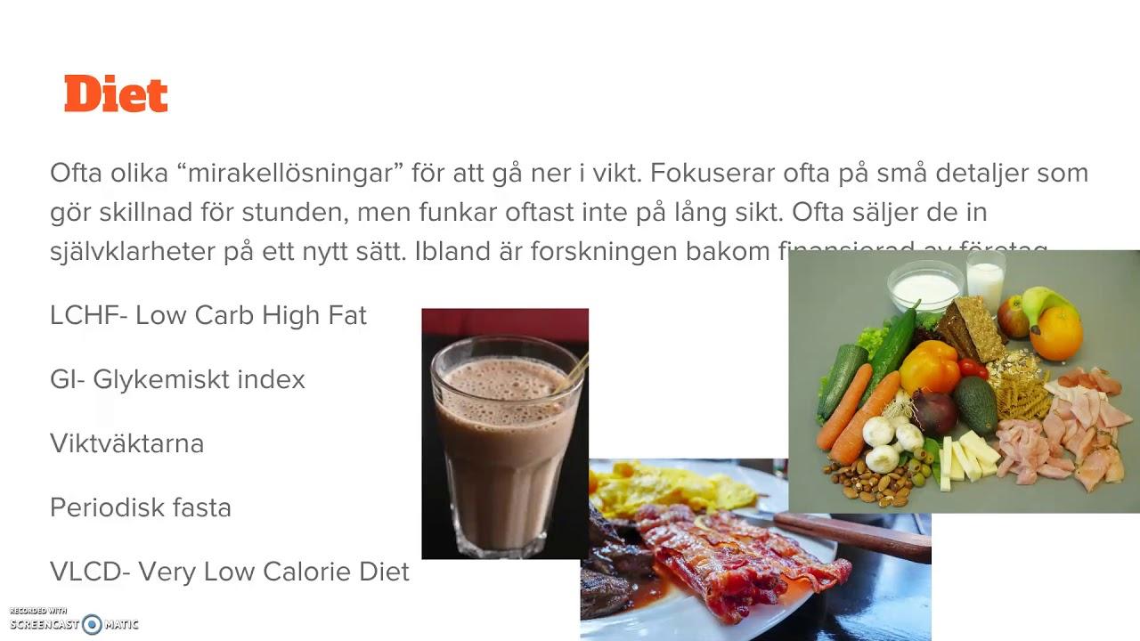 diet som funkar