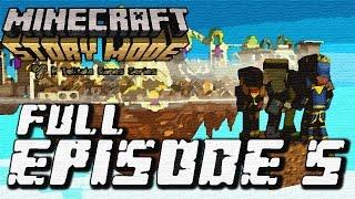 Minecraft: Story Mode - Full Episode 5: Order Up! Walkthrough 60FPS HD