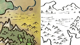 Tips for Drawing Deserts (Fantasy Map Making)