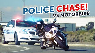 cops vs bike police chase