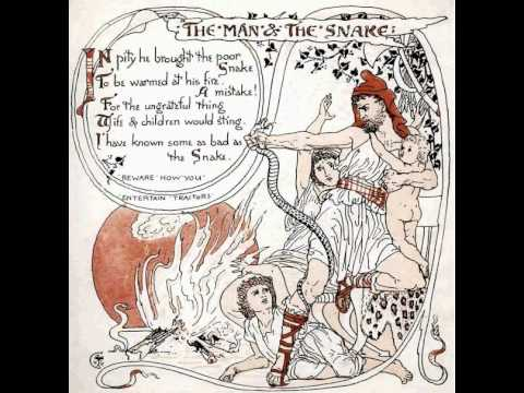 Aesop's Fable:  The Farmer and the Snake