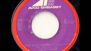 Cover images The Stylistics - Stop Look Listen