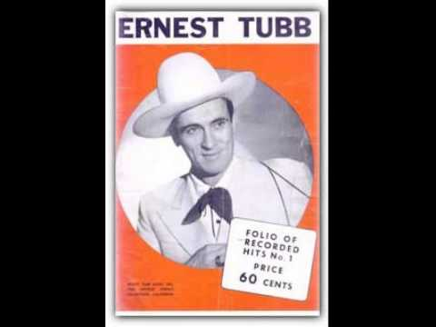 Ernest Tubb ~ I'll Take A Backseat For You