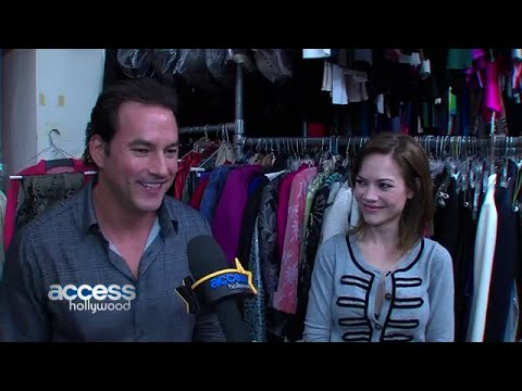 013014 Tyler Christopher & Rebecca Herbst  GH 13,000 Episodes