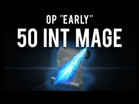 "Dark Souls 2 : OP Early ""50 INT"" Mage (Staff of Wisdom)"
