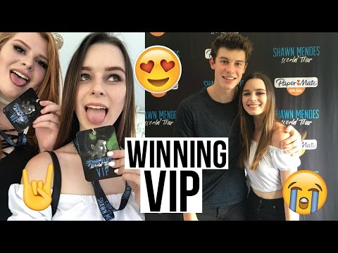 WINNING M&G FOR SHAWN MENDES! -Concert Vlog, VIP Soundcheck Experience