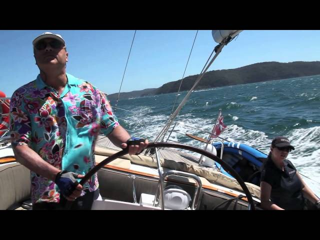 Beneteau 57 The Count Sydney to Broken Bay Cruise January 2013