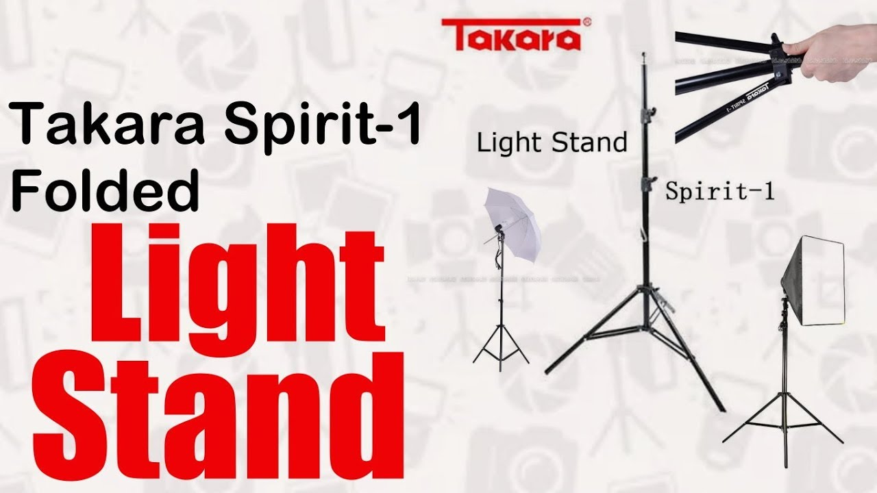 unbox light stand takara spirit [ 1280 x 720 Pixel ]