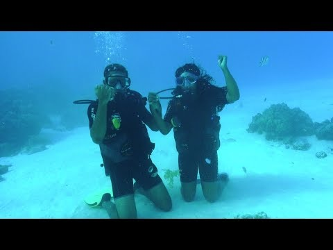 DEEP SEA DIVING IN BORA BORA!!